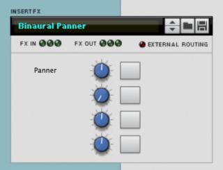 binaural panner combinator