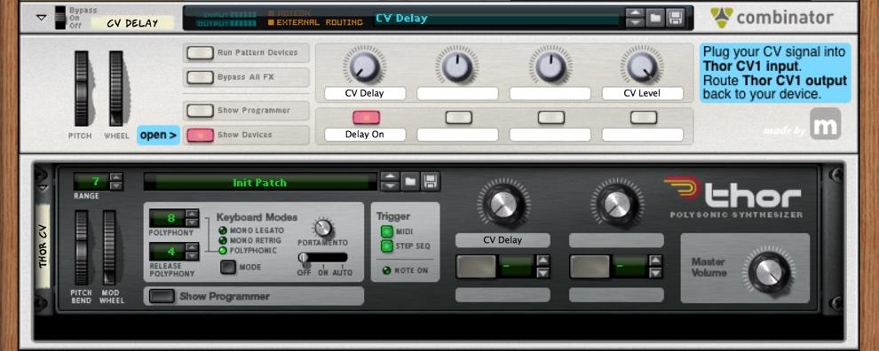cv-delay
